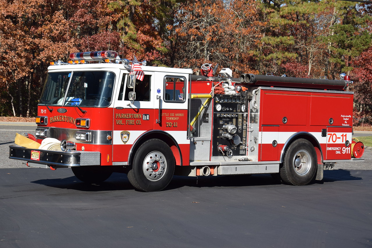 Parkertown Fire Company Engine 7011