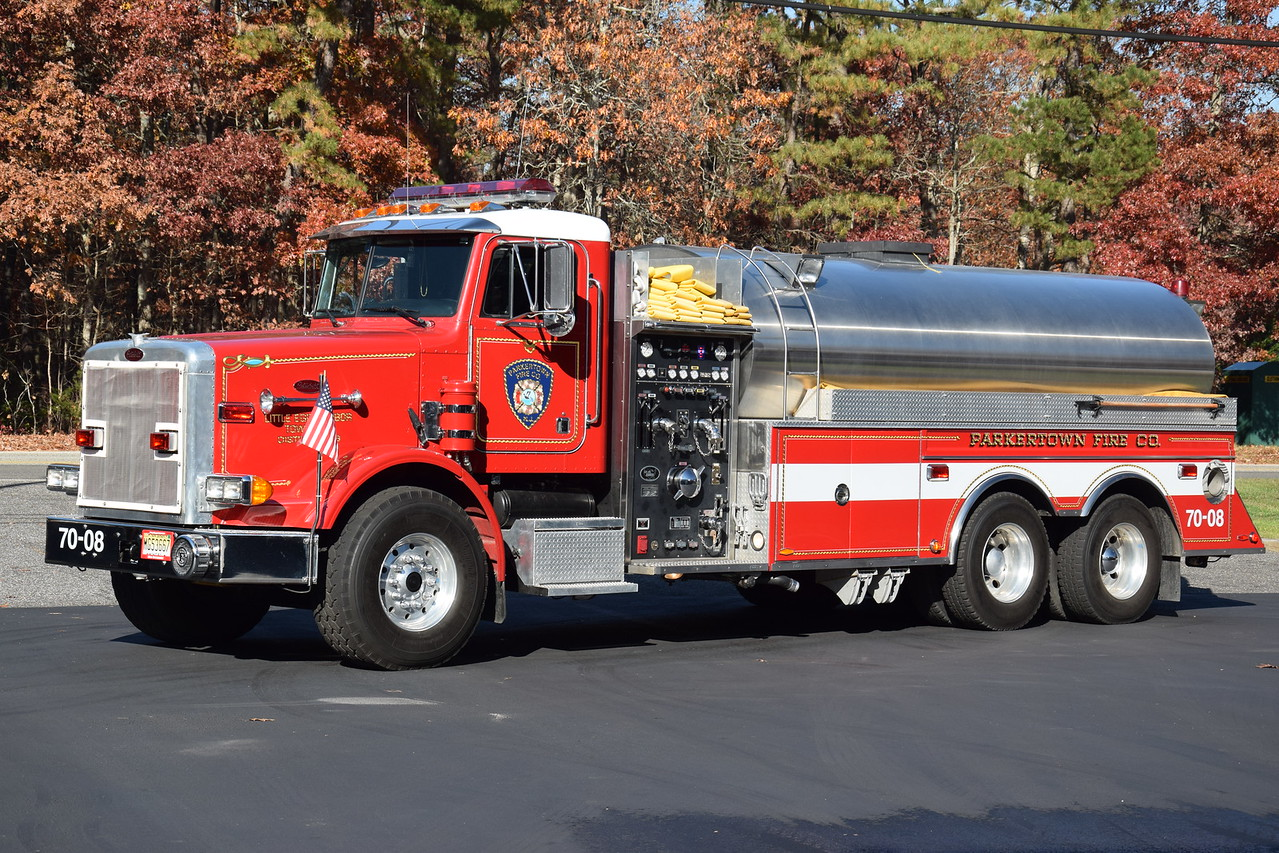 Parkertown Fire Company Tanker 7008