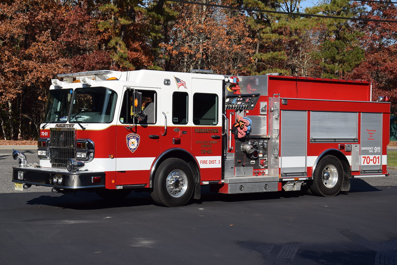 Parkertown Fire Company Engine 7001