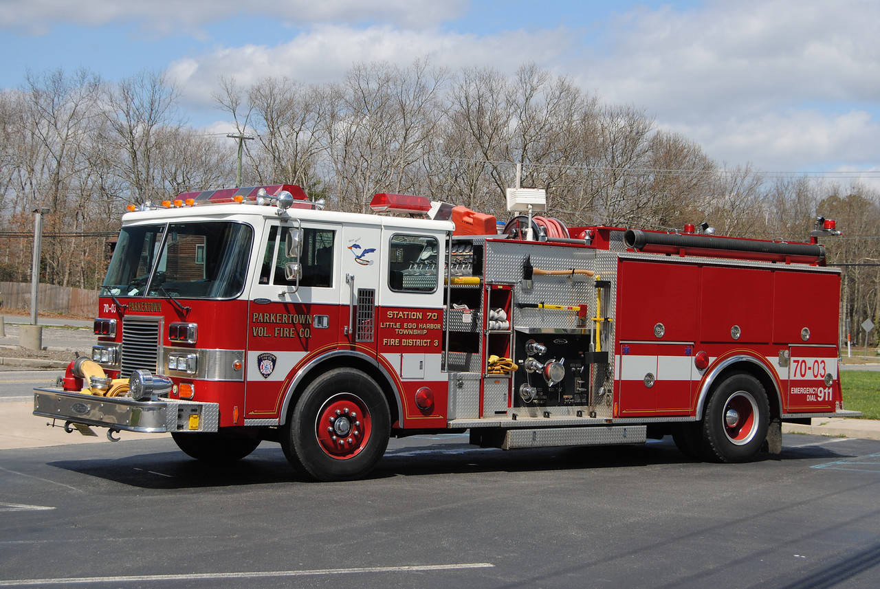 Parkertown Fire Company, Little Egg Harbor Engine-Rescue 7003