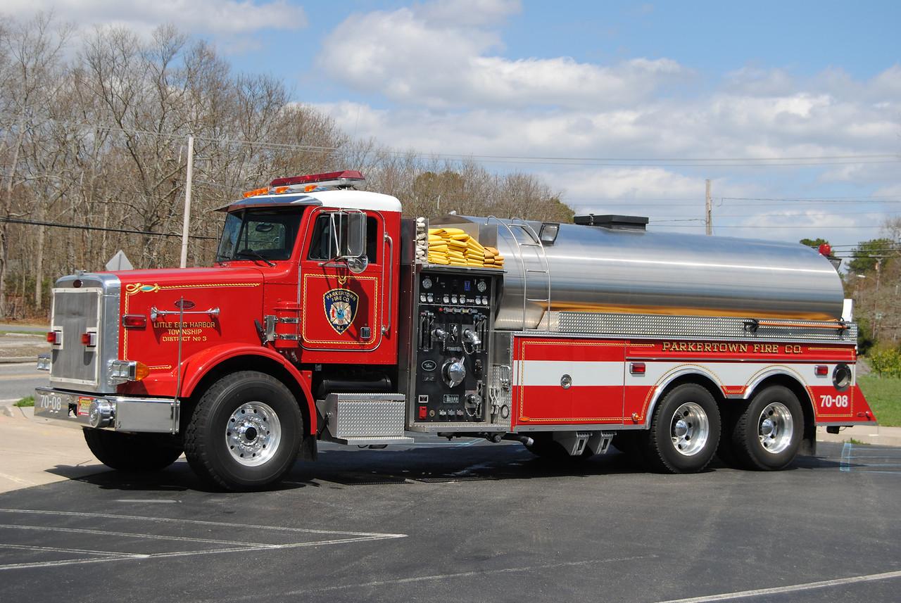 Parkertown Fire Company, Little Egg Harbor Tanker 7008