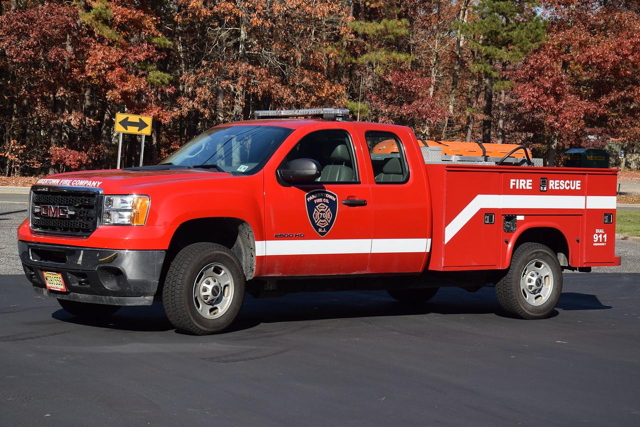 Parkertown Fire Company Utility 7007