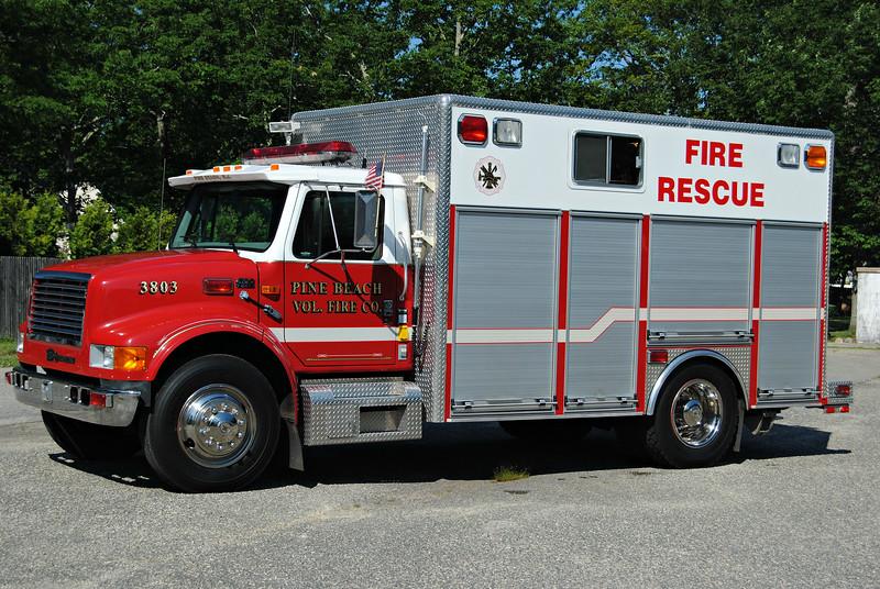 Pine Beach Fire Company Rescue 3803