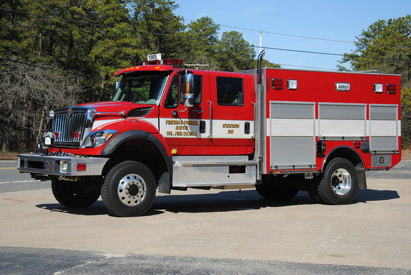 Pinewald Pioneer Fire Company Engine-Rescue 2013