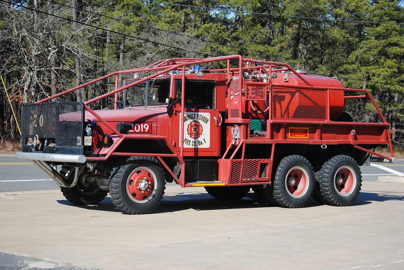 Ex-Pinewald Pioneer Fire Company Brush 2019