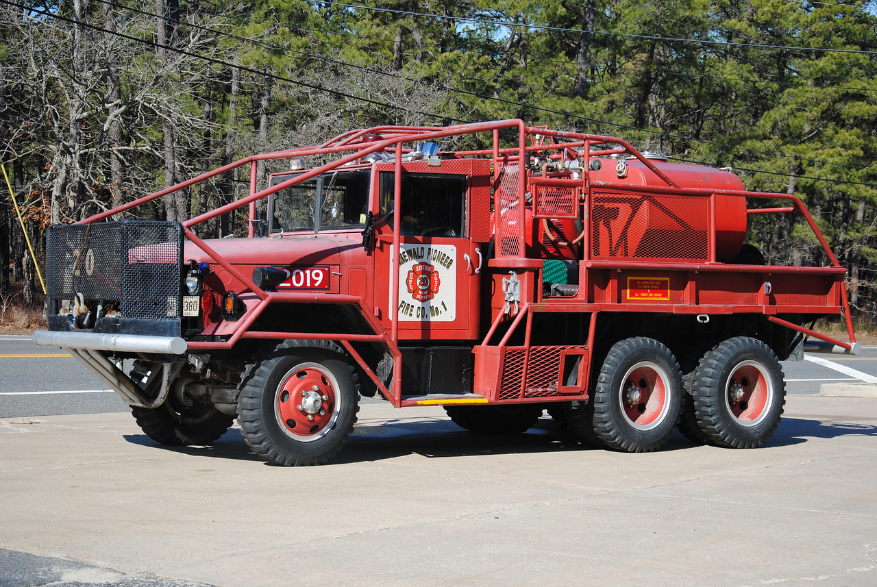 Ex-Pinewald Pioneer Fire Company Brush 2019