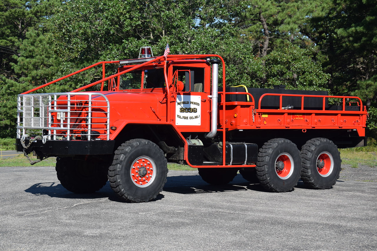 Pinewald Pioneer Fire  Company Brush 2039