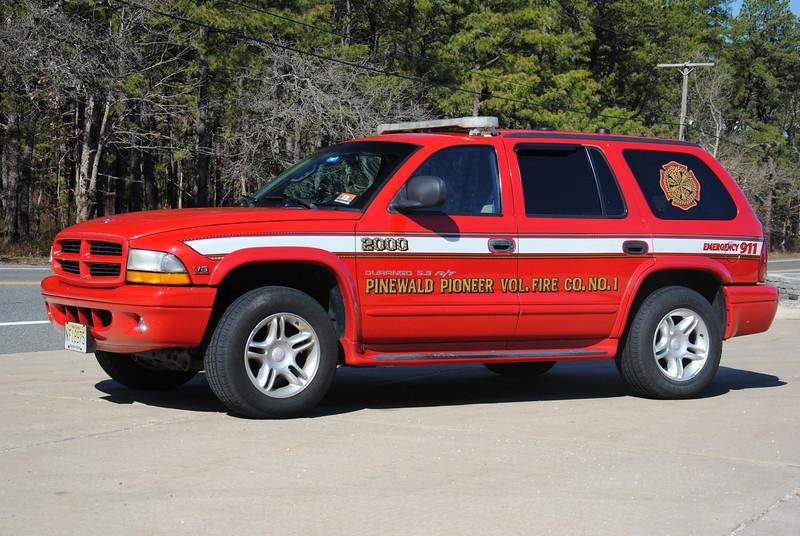 Ex- Pinewald Pioneer Fire Company Chief 2000
