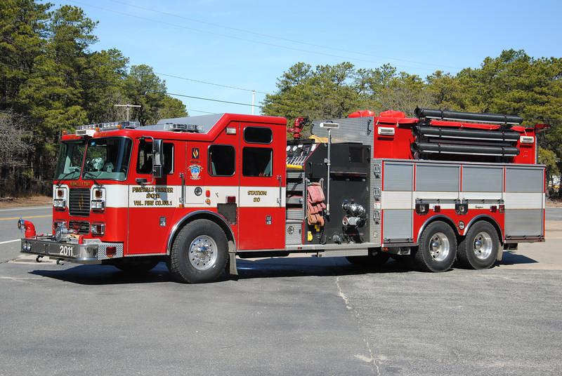Pinewald Pioneer Fire Company Engine-Tanker 2011