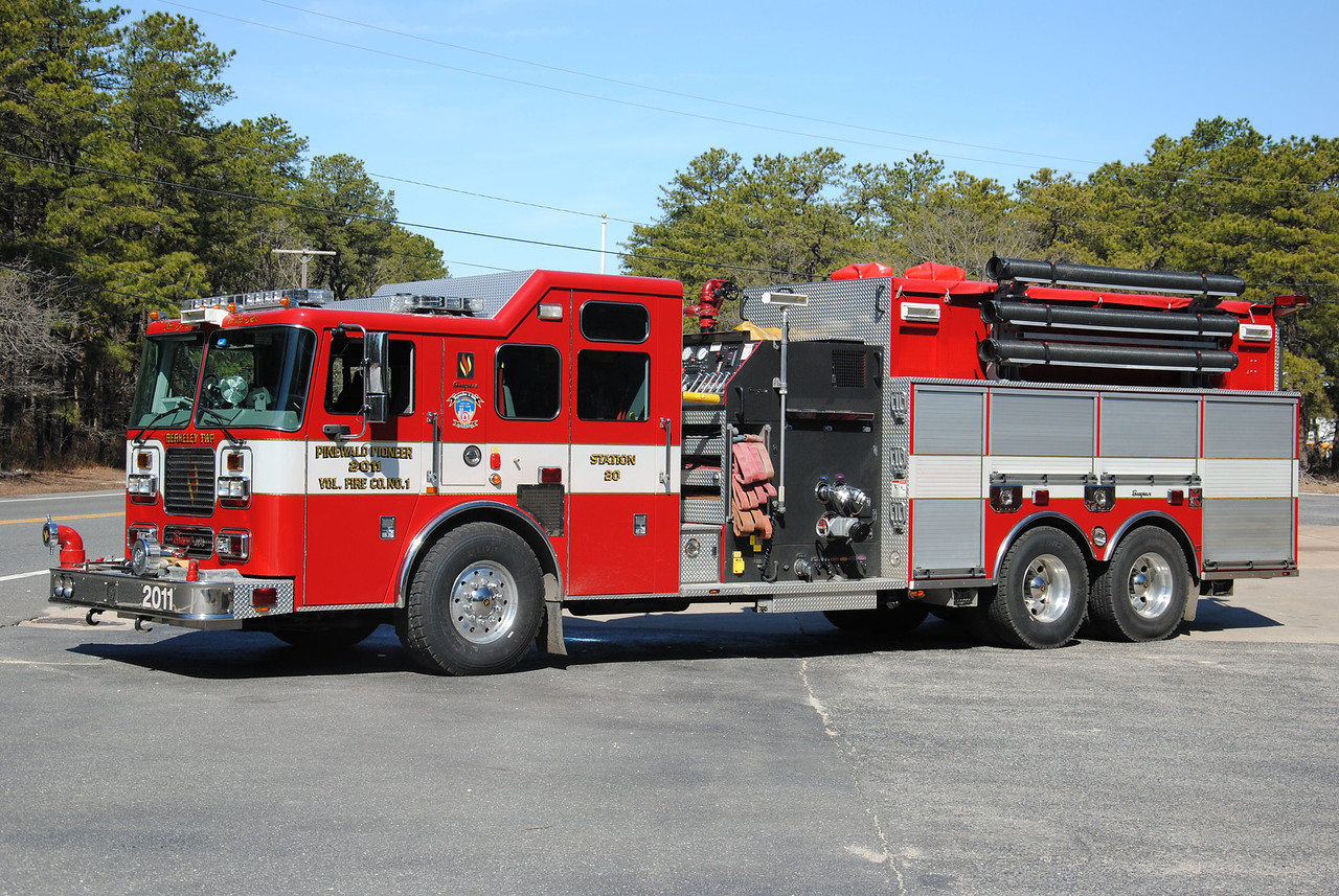 Pinewald Pioneer Fire Company Engine-Tanker 2011