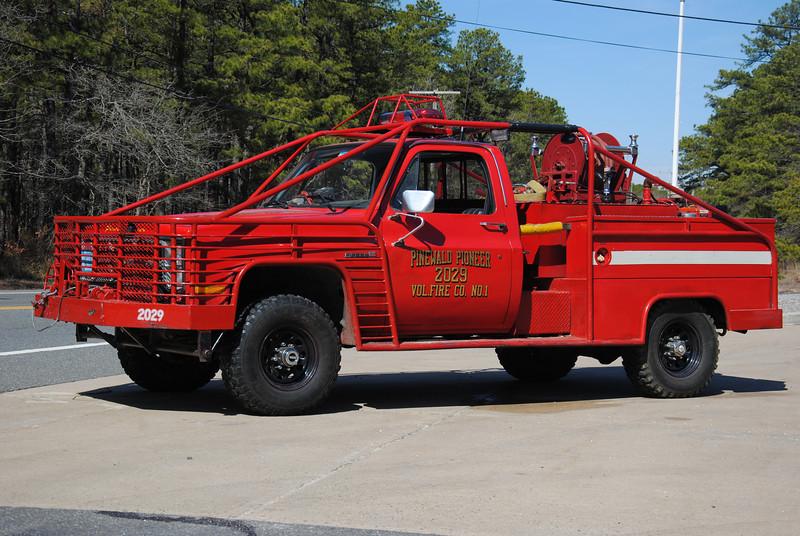 Pinewald Pioneer Fire Company Brush 2029