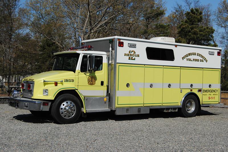 Pinewood Esates Fire Company, Barnegat Twp Rescue 1203