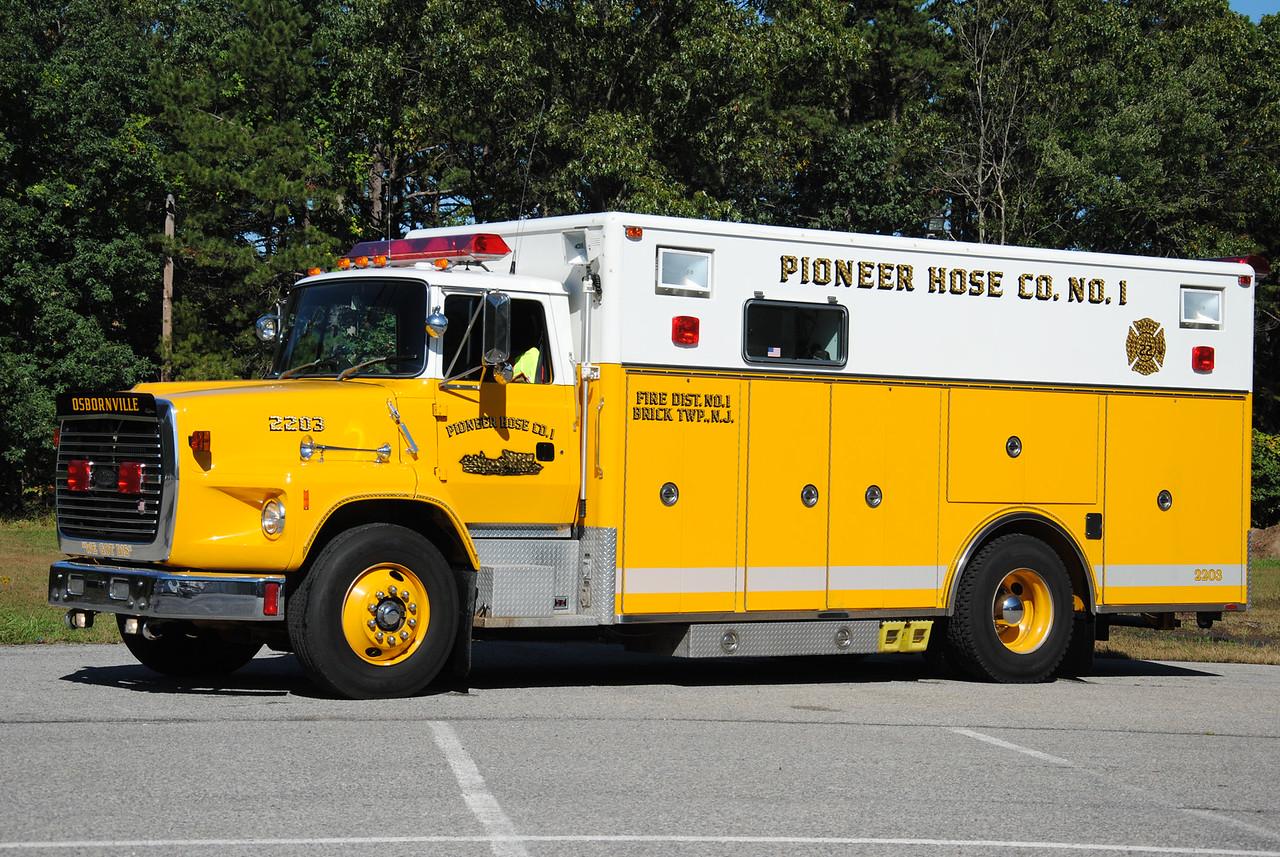 Pioneer Hose Company #1, Brick Twp Rescue 2203
