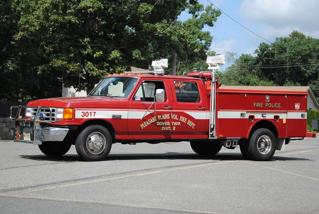 Pleasant Plains Fire Department, Toms River Fire Police 3017