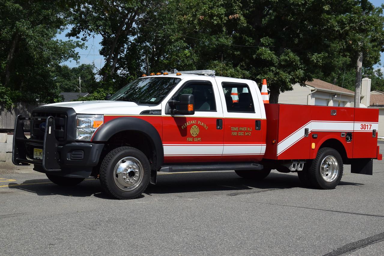 Pleasant Plains Fire Department Fire Police 3017