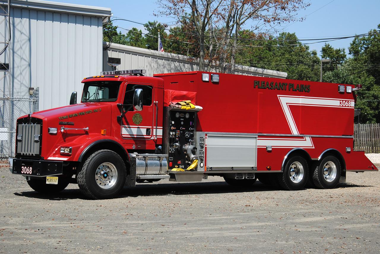 Pleasant Plains Fire Department Tanker 3068