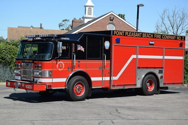 Point Pleasant Beach Fire Company #2-Station 43