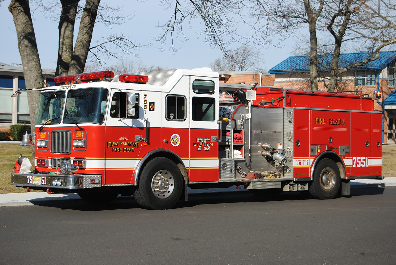 Point Pleasant Fire Department Engine 7551