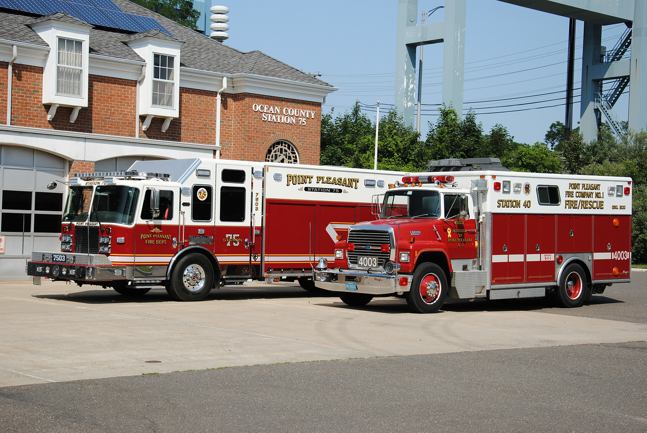 Point Pleasant Fire Department New & Old Rescue 7503