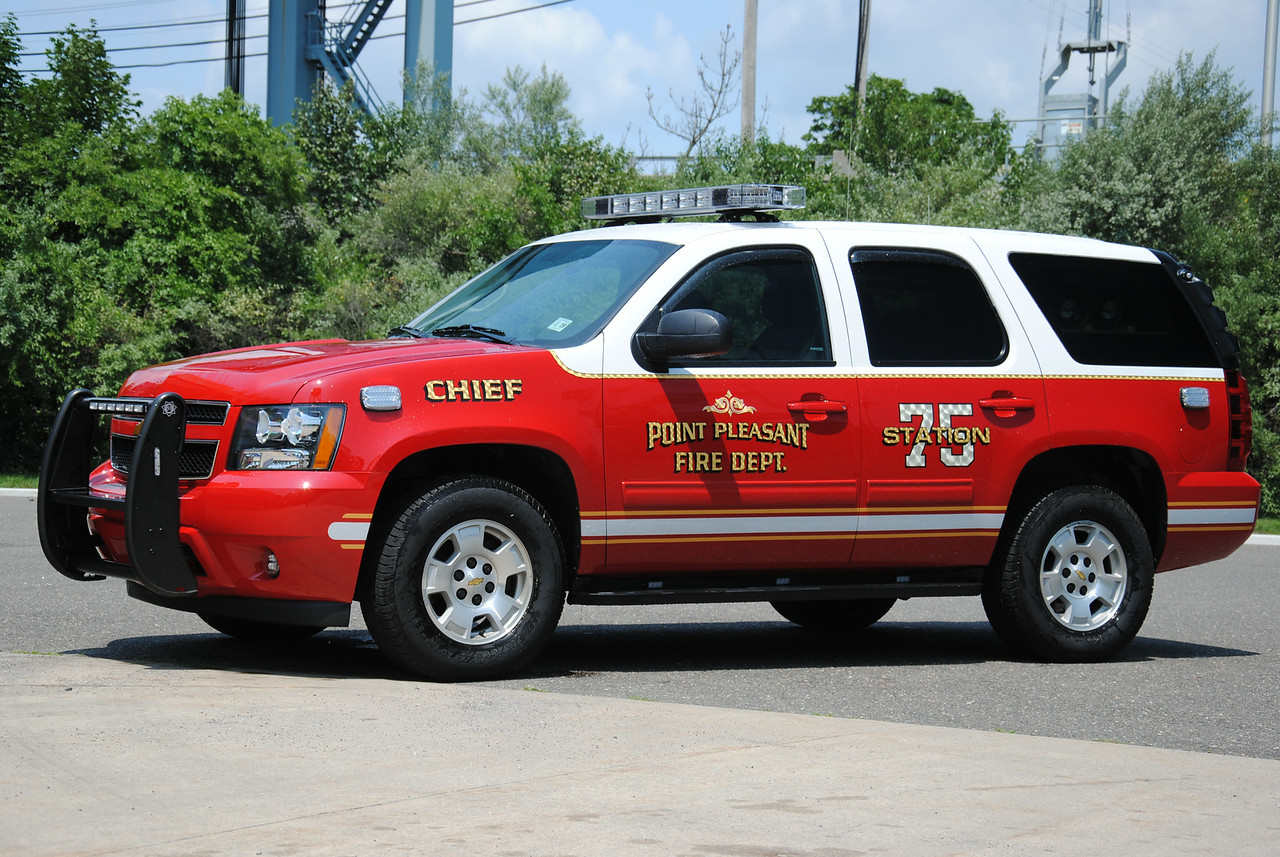 Point Pleasant Fire Department Chief 7500