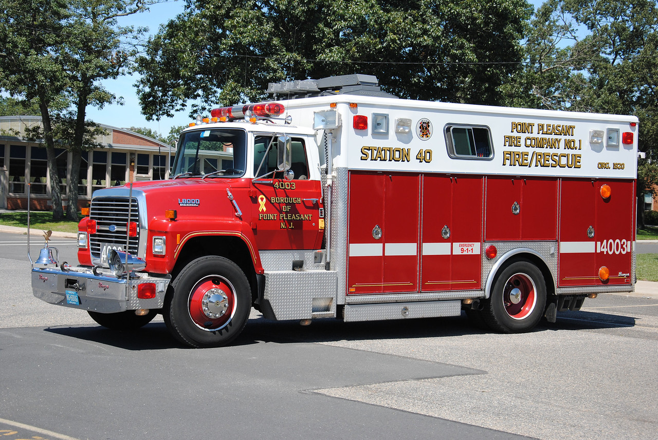 Point Pleasant Fire Department Rescue 7503