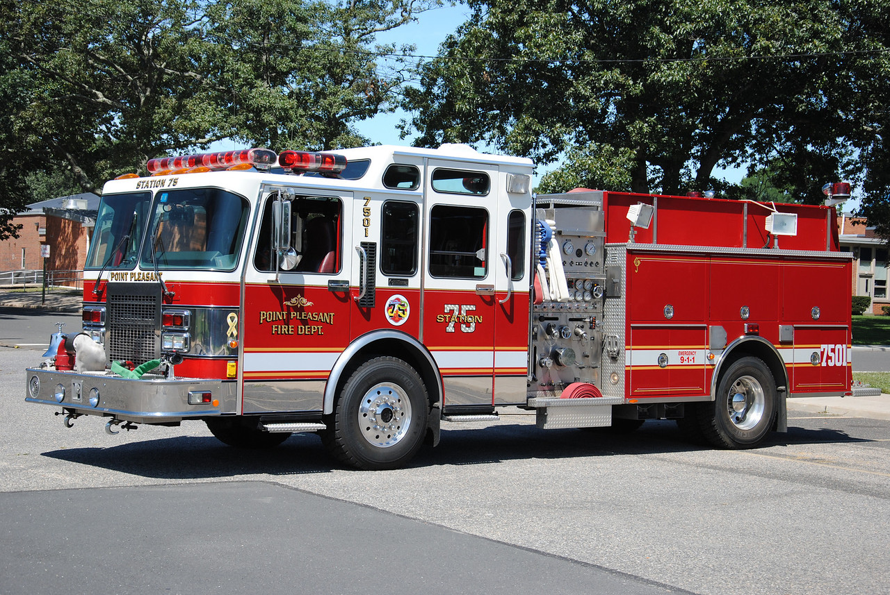Point Pleasant Fire Department Engine 7501