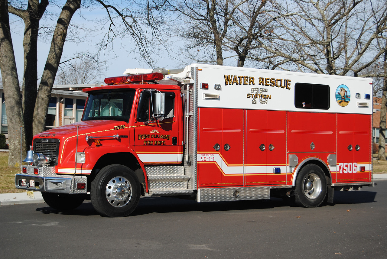 Point Pleasant Fire Department Water Rescue 7506