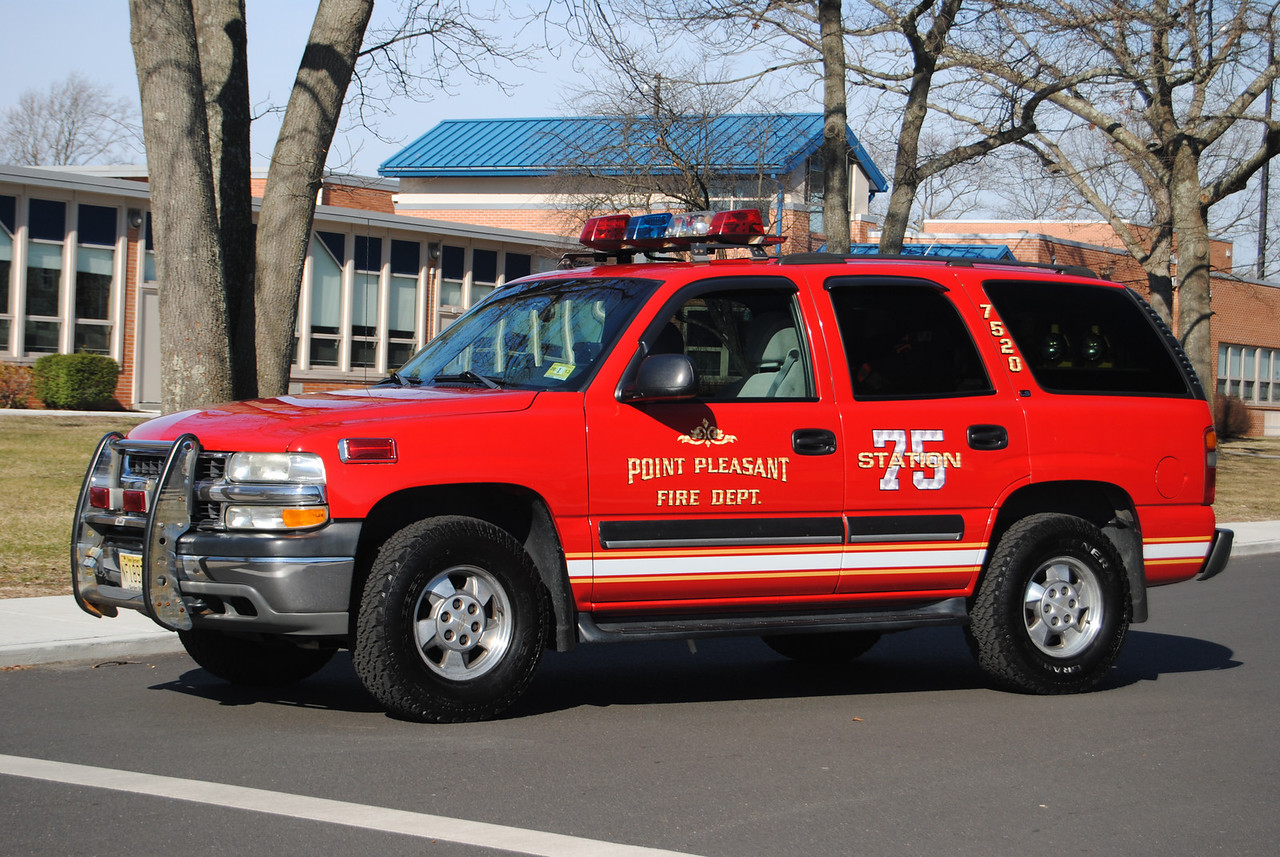 Point Pleasant Fire Department Asst Chief 7520
