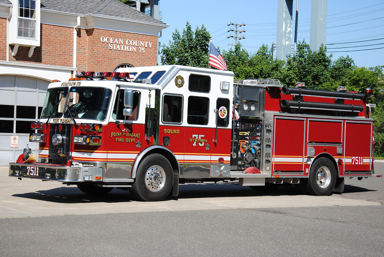 Point Pleasant Fire Department Squad 7511