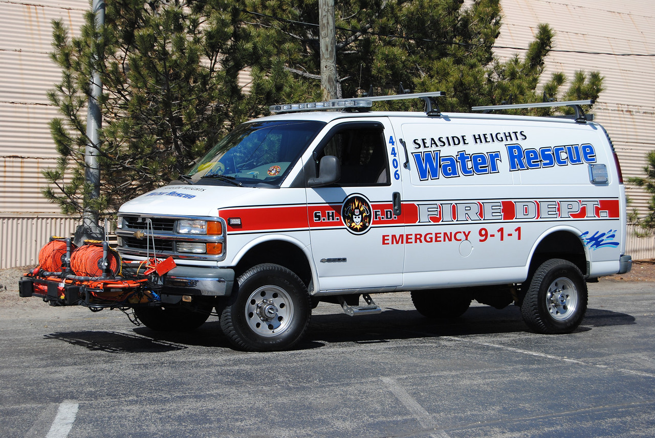 Ex-Seaside Heights Fire Department Water Rescue 4406