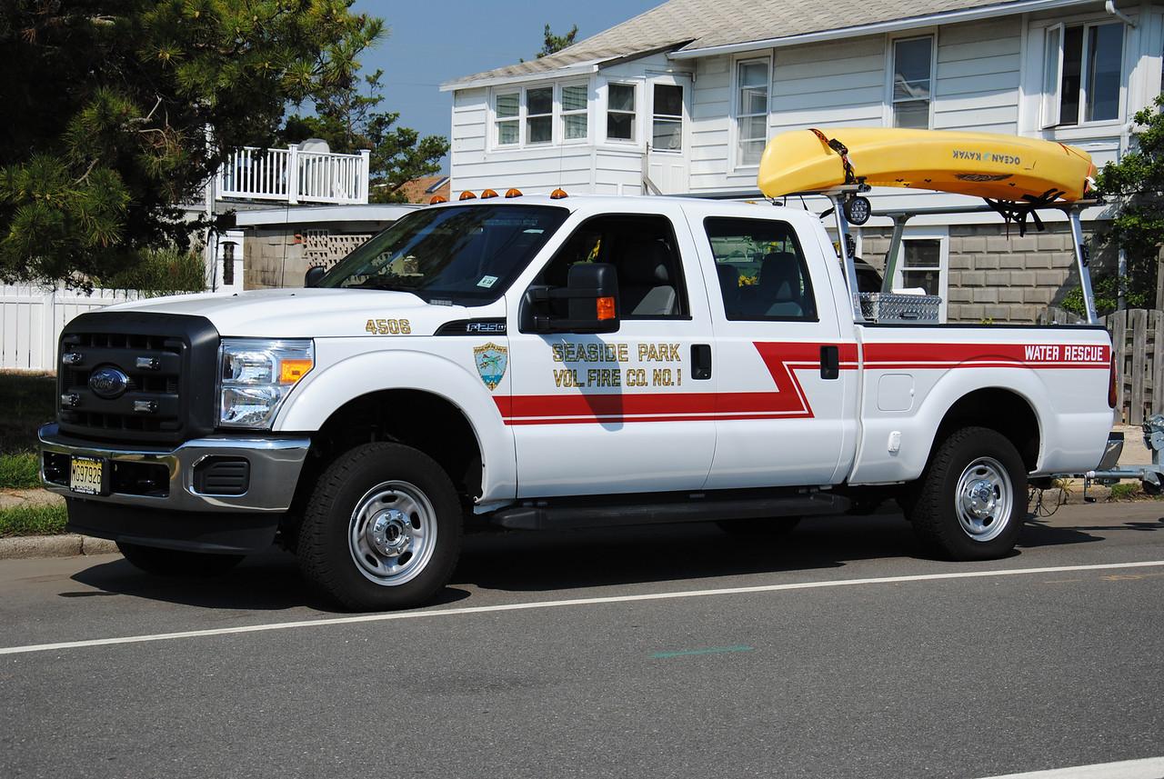 Seaside Park Fire Company Water Rescue 4506
