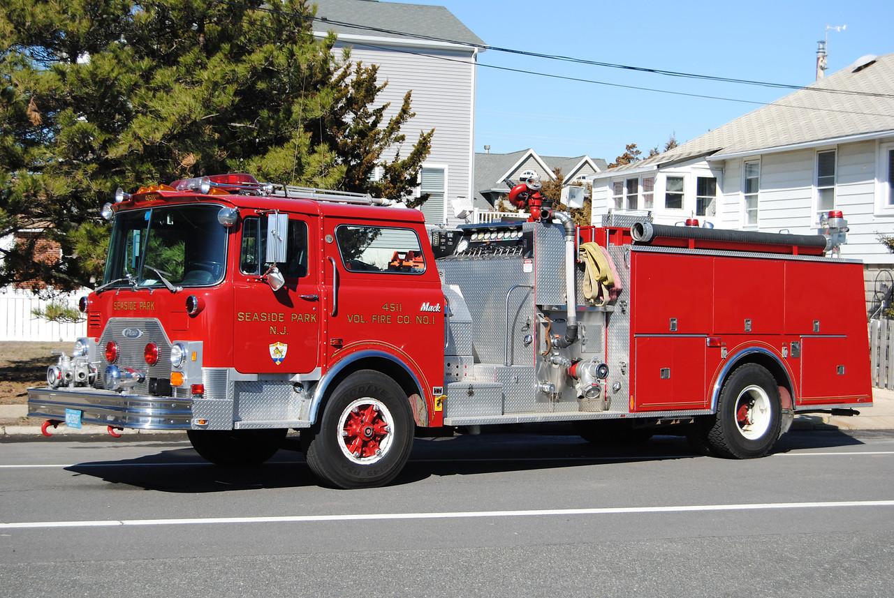 EX-Seaside Park Fire Company Engine 4511