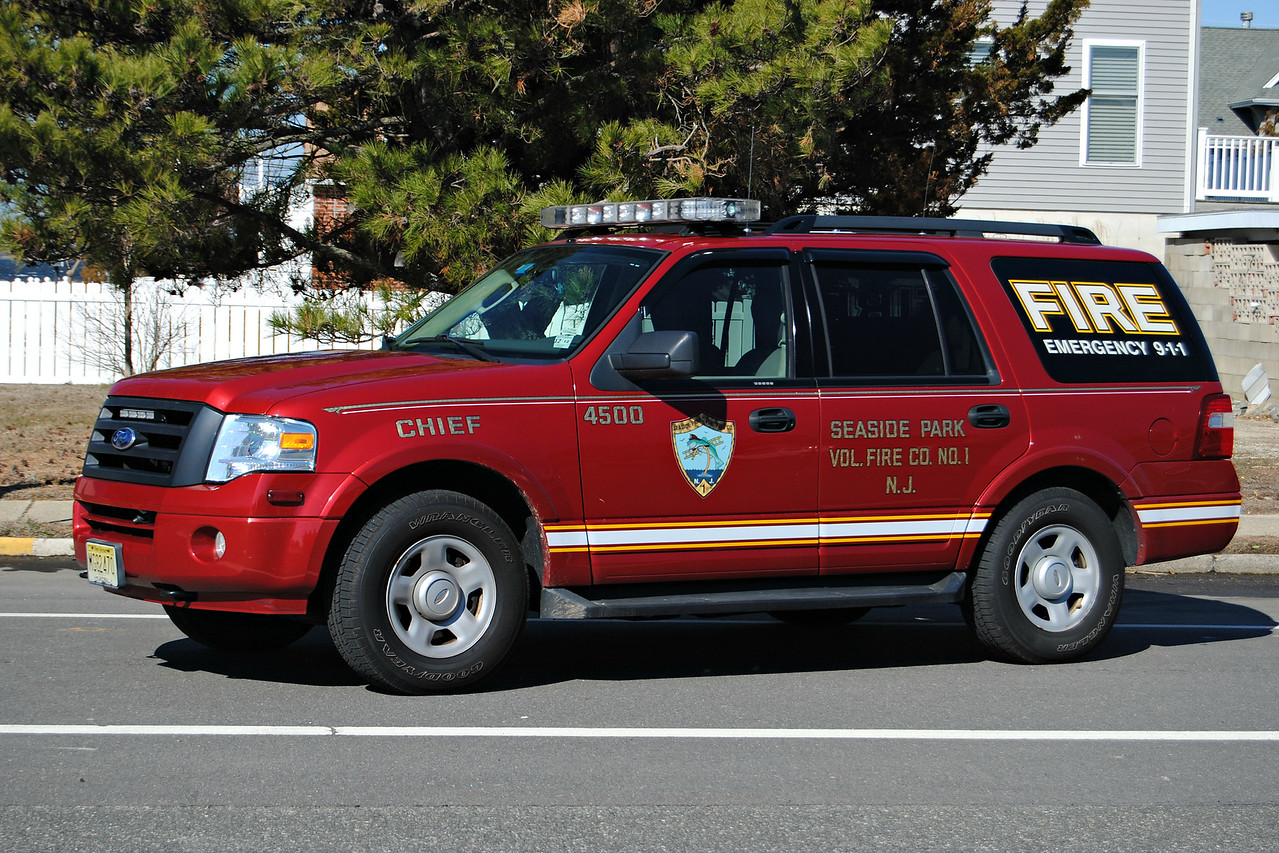 Seaside Park Fire Company Chief 4500