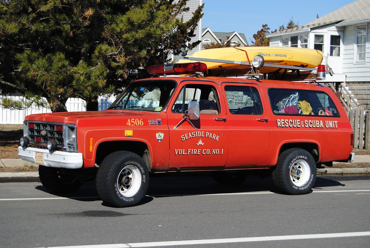 EX-Seaside Park Fire Company Water Rescue 4506