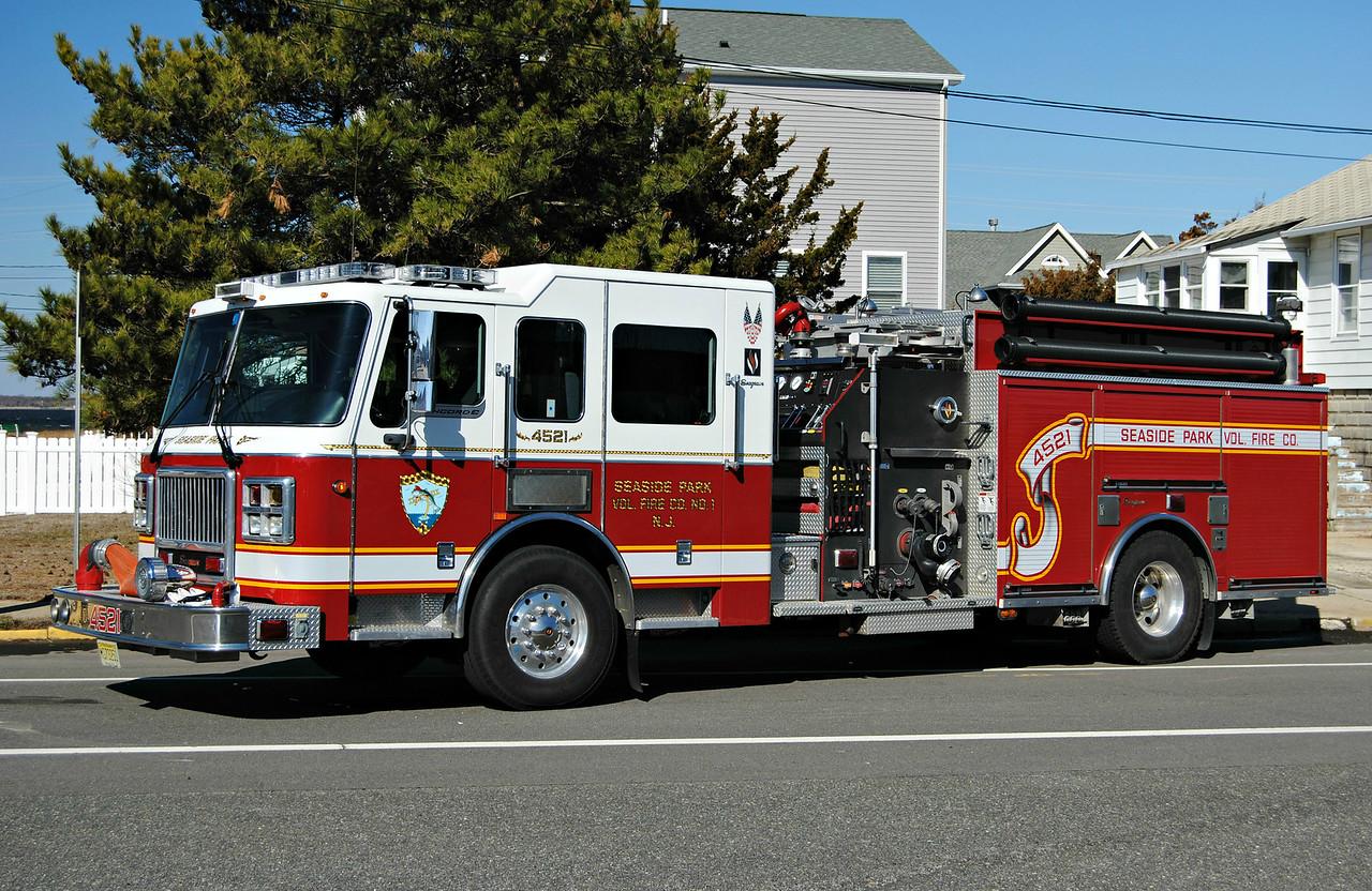 Seaside Park Fire Company Engine 4521