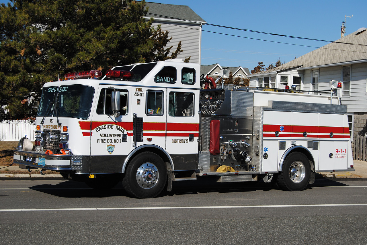 EX-Seaside Park Fire Company Engine 4531