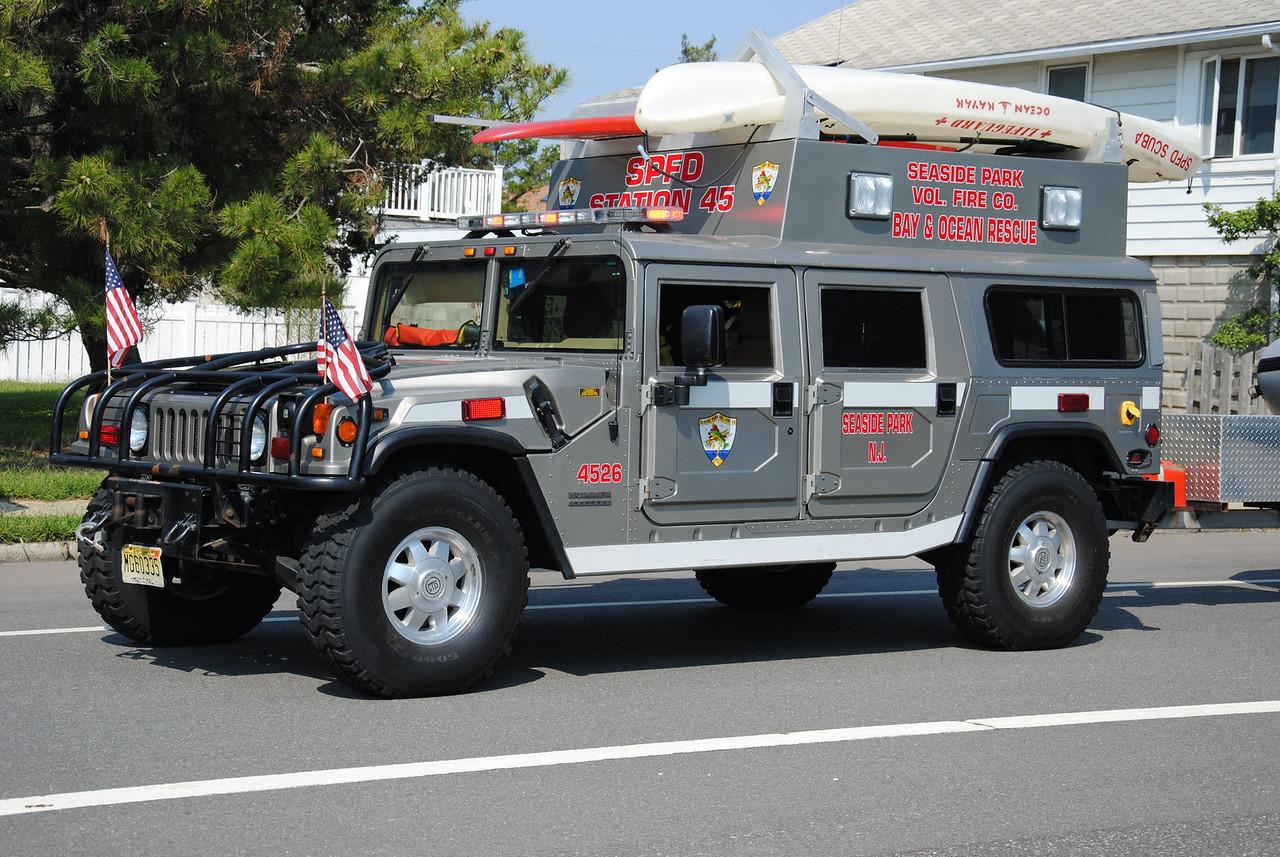 Seaside Park Fire Company Water Rescue 4526