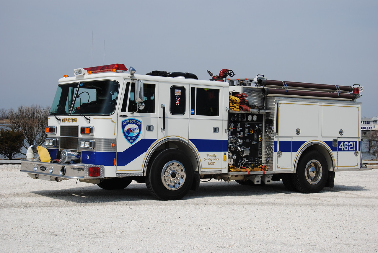 Ex-Ship Bottom Fire Company Engine 4621
