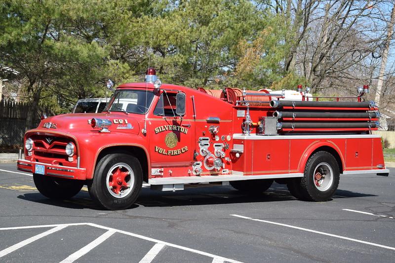 Silverton Fire Company Antique Engine