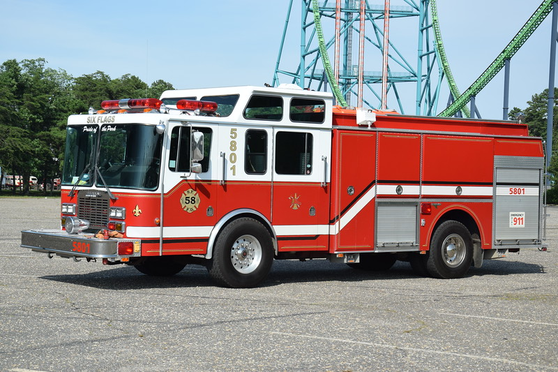Six Flags Fire Department Engine 5801