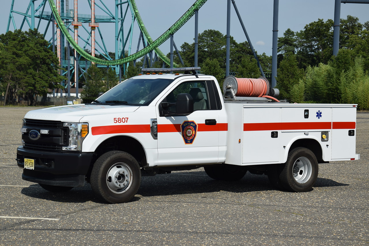 Six Flags Fire Department Brush 5807