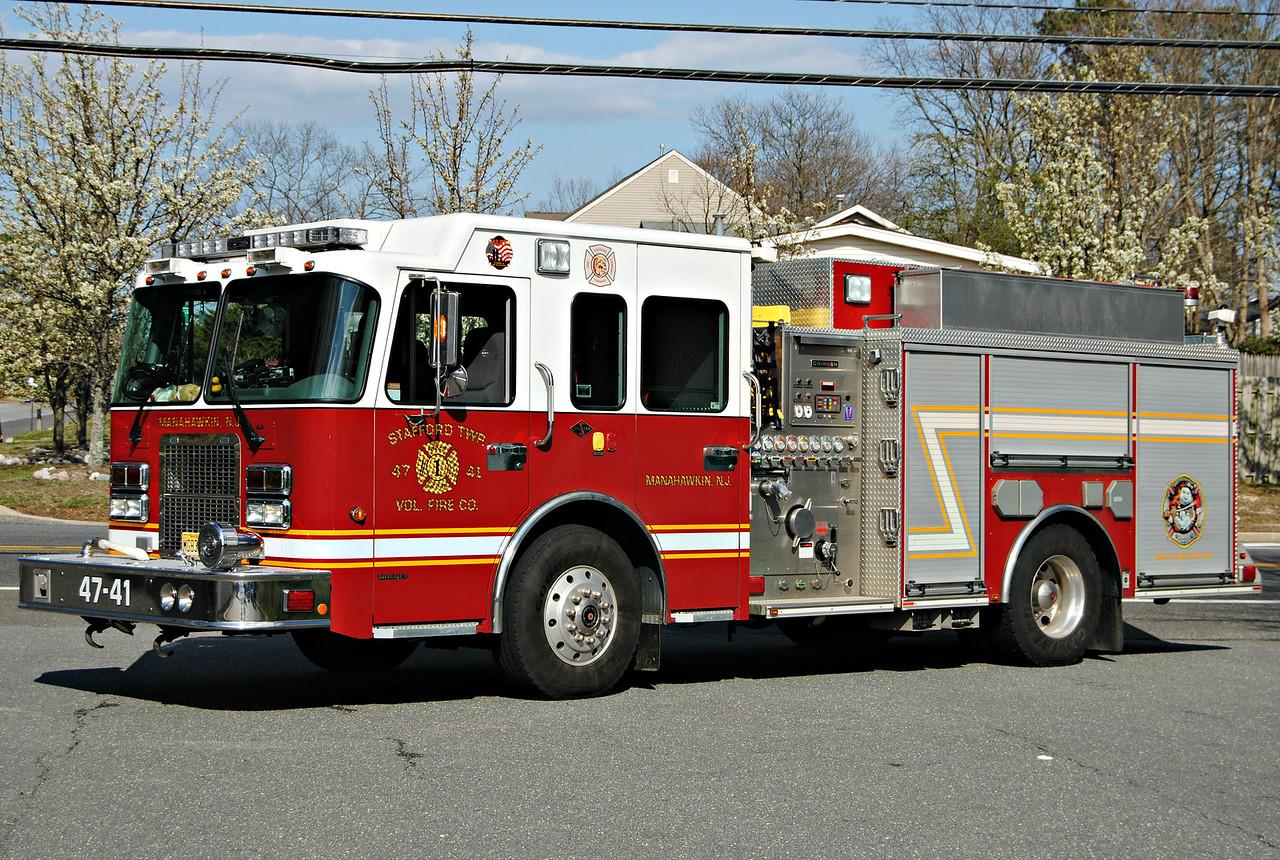 Stafford Fire Company, Stafford Twp Engine 4741