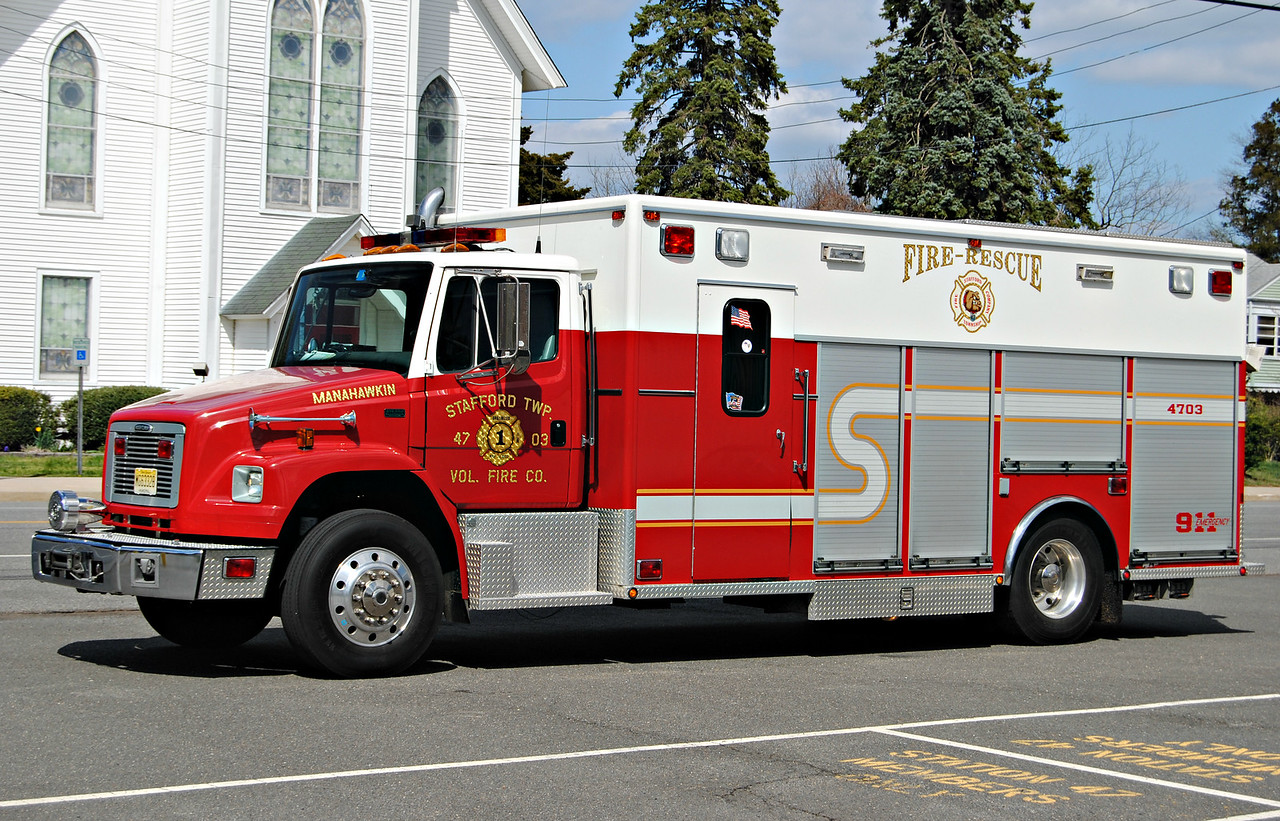 Stafford Fire Company, Stafford Twp Rescue 4703
