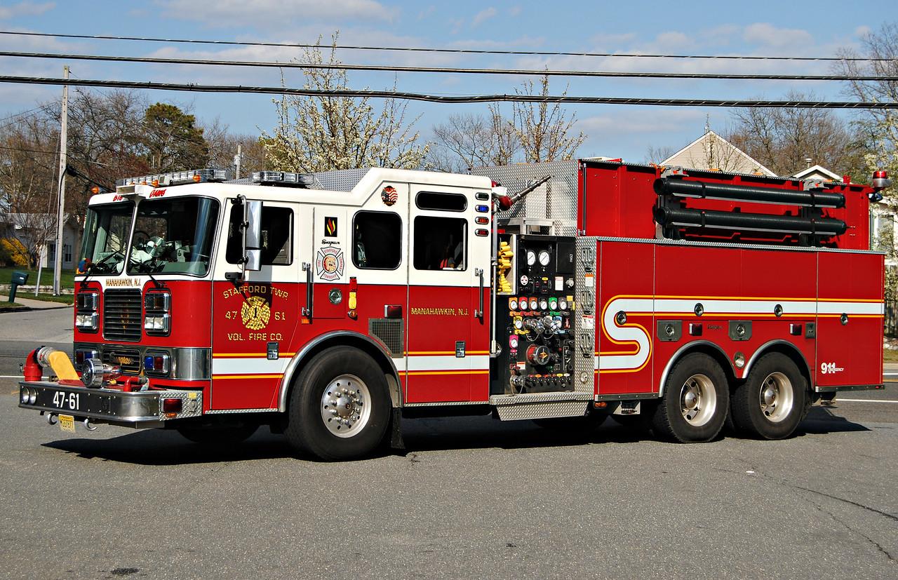 Stafford Fire Company, Stafford Twp Engine 4761