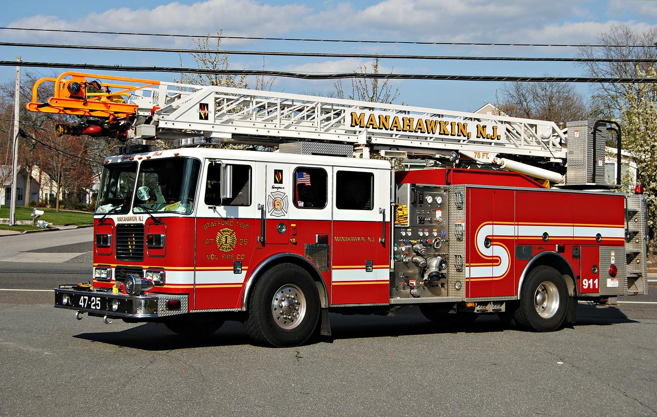 Stafford Fire Company, Stafford Twp Ladder 4725