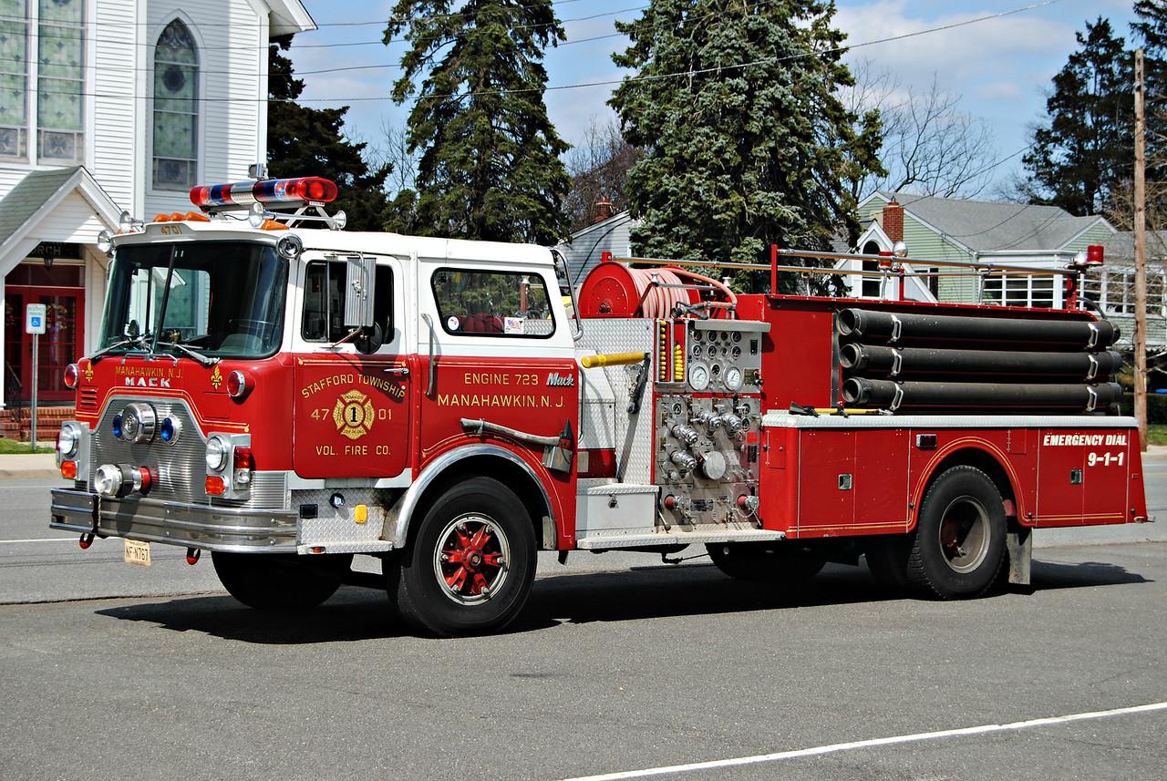 Stafford Fire Company, Stafford Twp Engine 4701