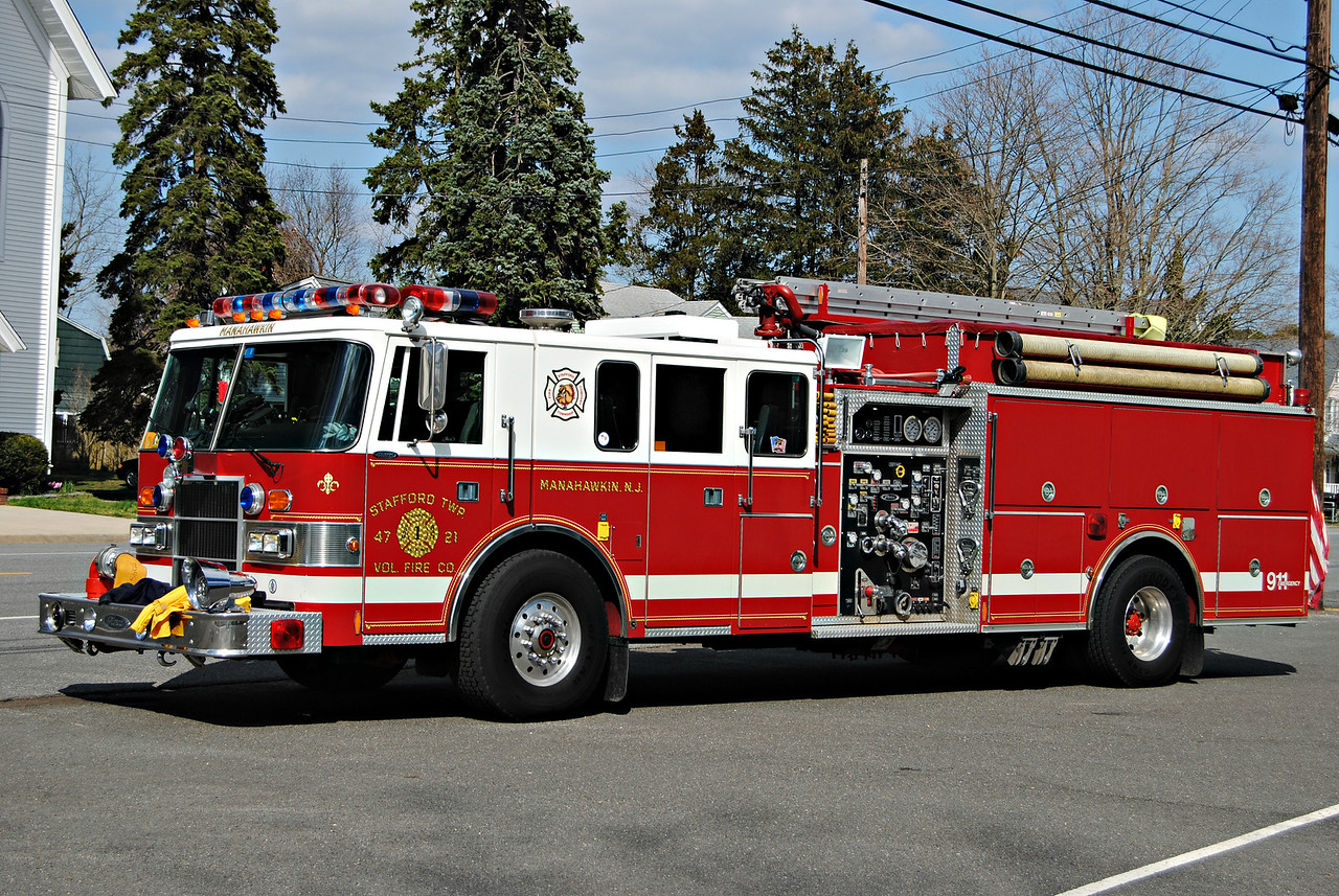 Stafford Fire Company, Stafford Twp Engine 4721