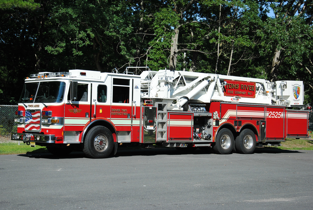 Toms River Fire Company #1, Toms River Tower 2525