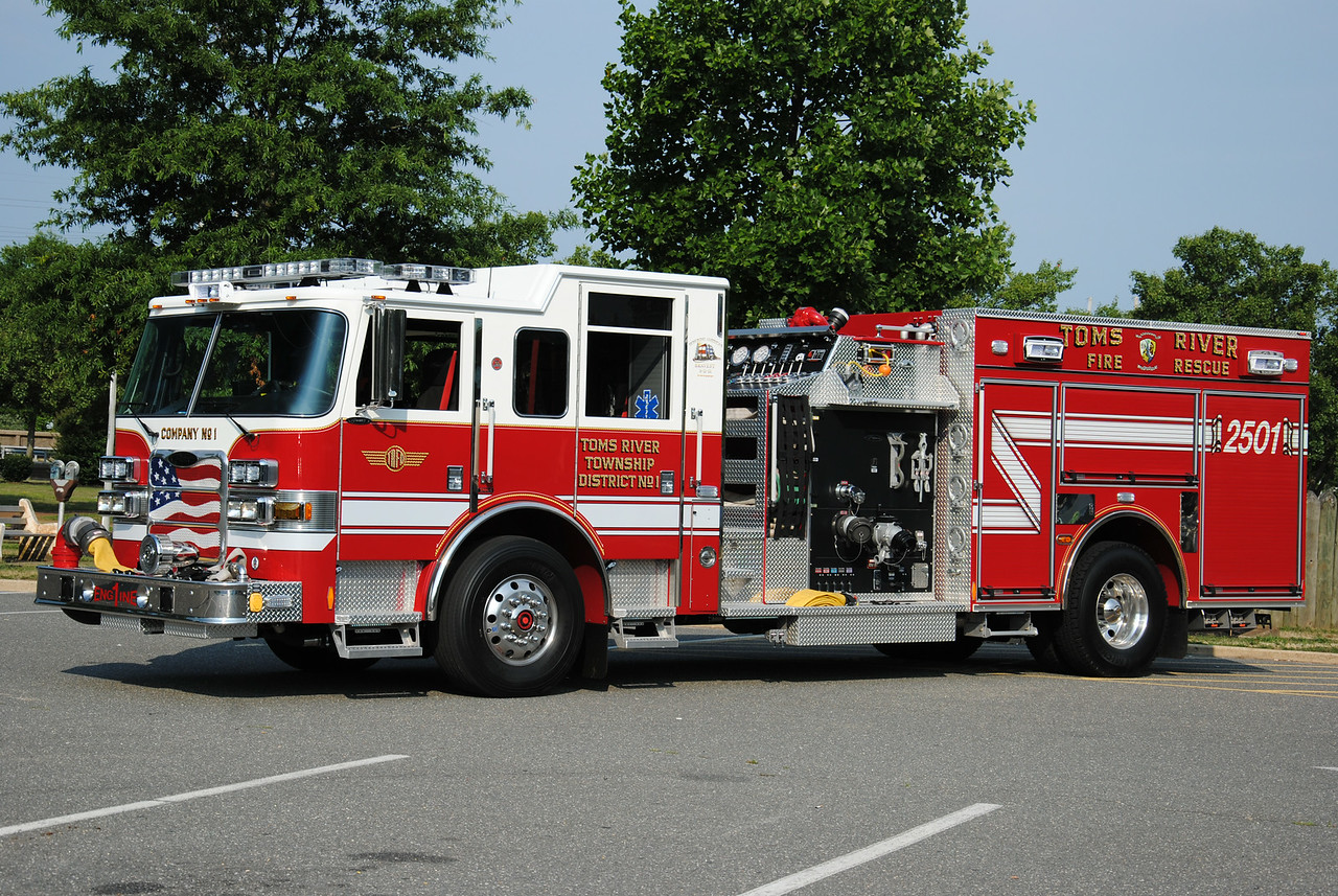 Toms River Fire Company #1, Toms River Engine 2501