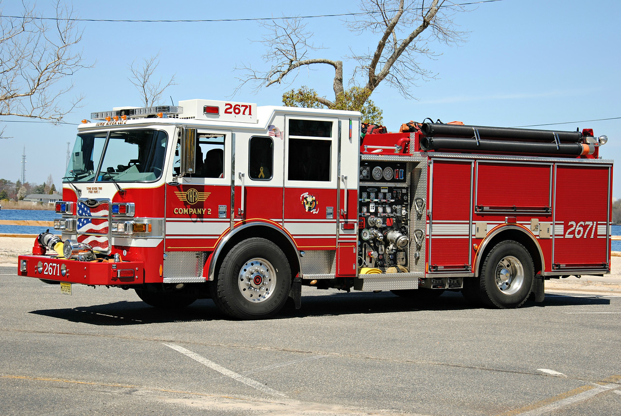 Toms River Fire Company #2 Engine 2671